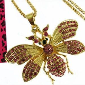 BETSEY JOHNSON~ Moth/Butterfly Necklace